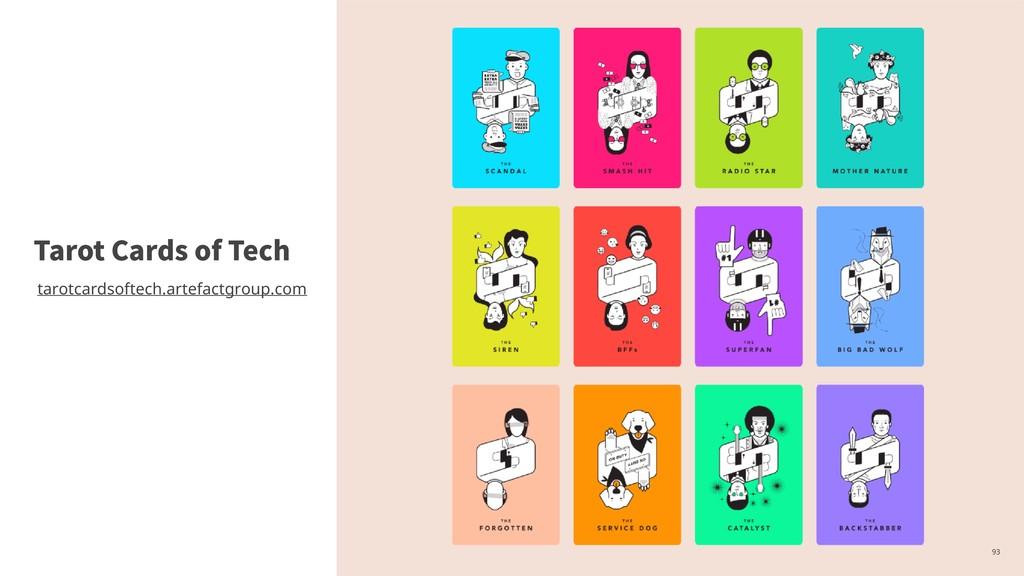 ,93 Tarot Cards of Tech tarotcardsoftech.artefa...
