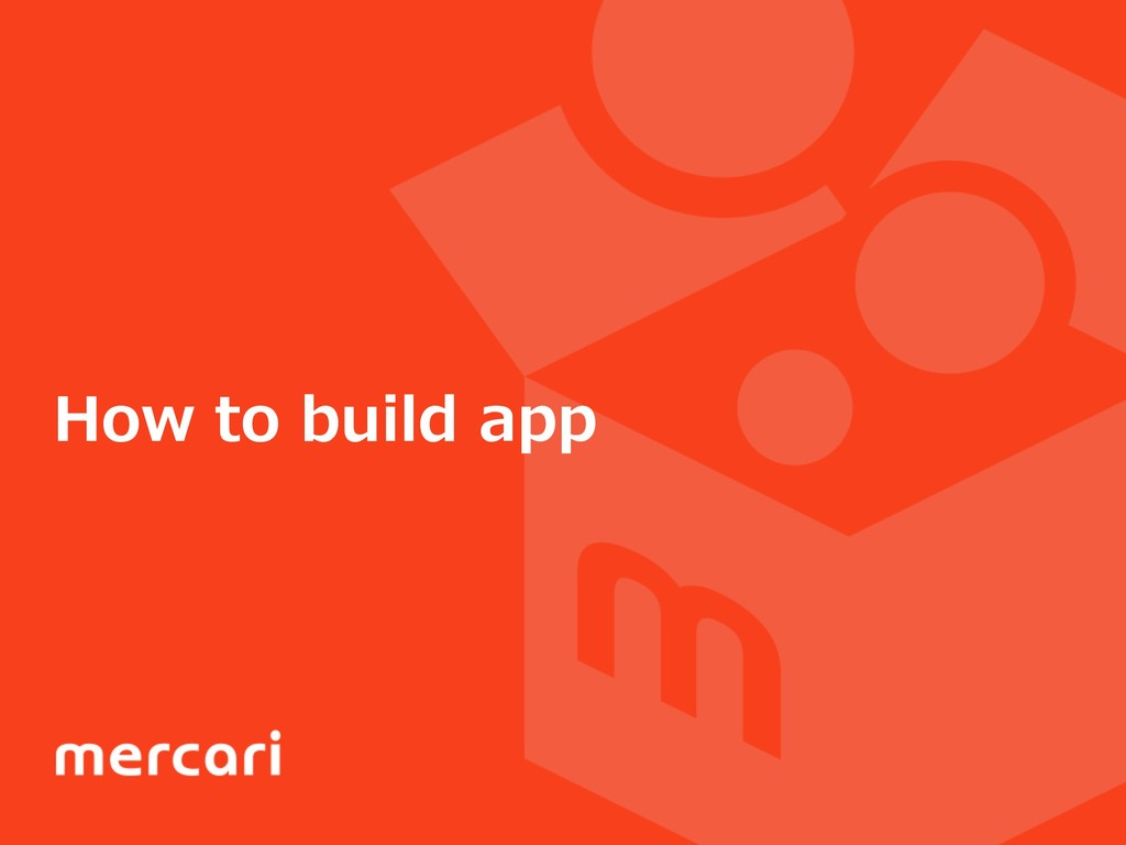 How to build app