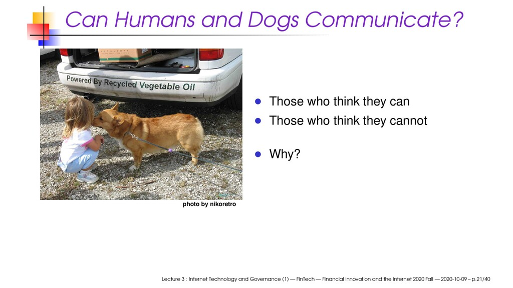Can Humans and Dogs Communicate? photo by nikor...