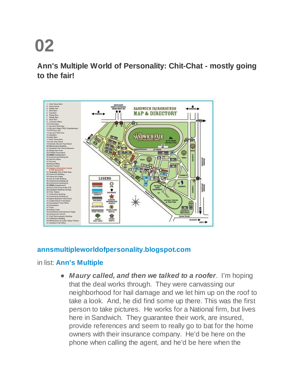 02 Ann's Multiple World of Personality: Chit-Ch...