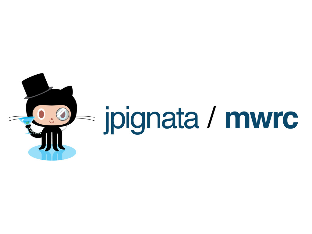 jpignata / mwrc