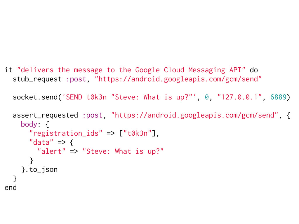 "it ""delivers the message to the Google Cloud Me..."