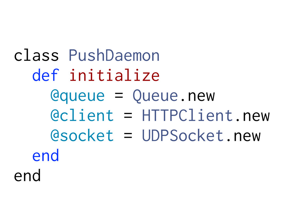 class PushDaemon def initialize @queue = Queue....