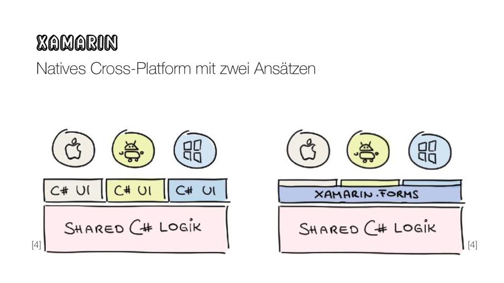 Xamarin Natives Cross-Platform mit zwei Ansätze...