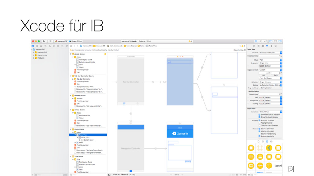 Xcode für IB [6]