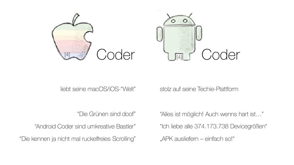 """Coder liebt seine macOS/iOS-""""Welt"""" """"Die Grünen ..."""
