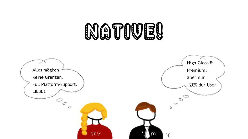Native! Alles möglich Keine Grenzen, Full Platf...