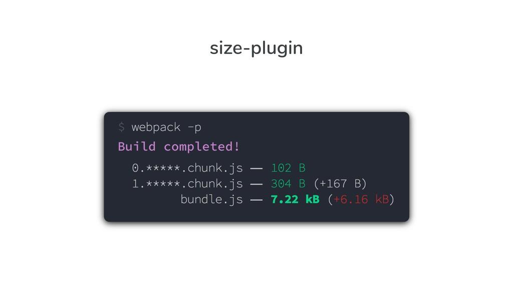size-plugin