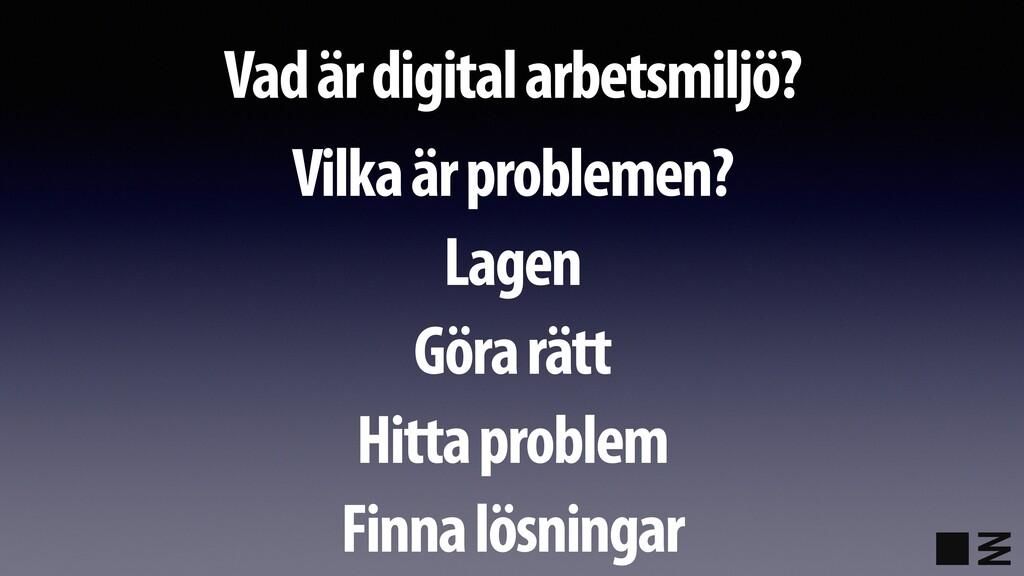 Vad är digital arbetsmiljö? Vilka är problemen?...
