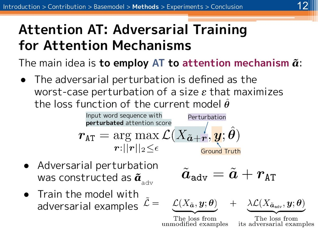 Attention AT: Adversarial Training for Attentio...