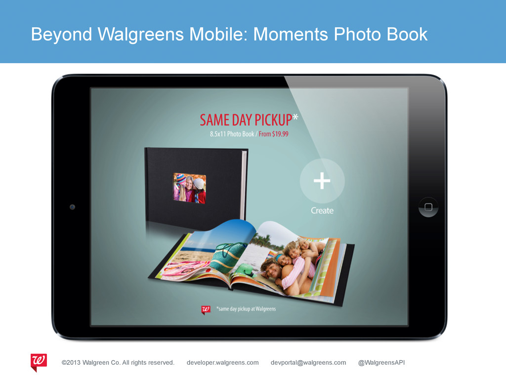 Beyond Walgreens Mobile: Moments Photo Book ©20...