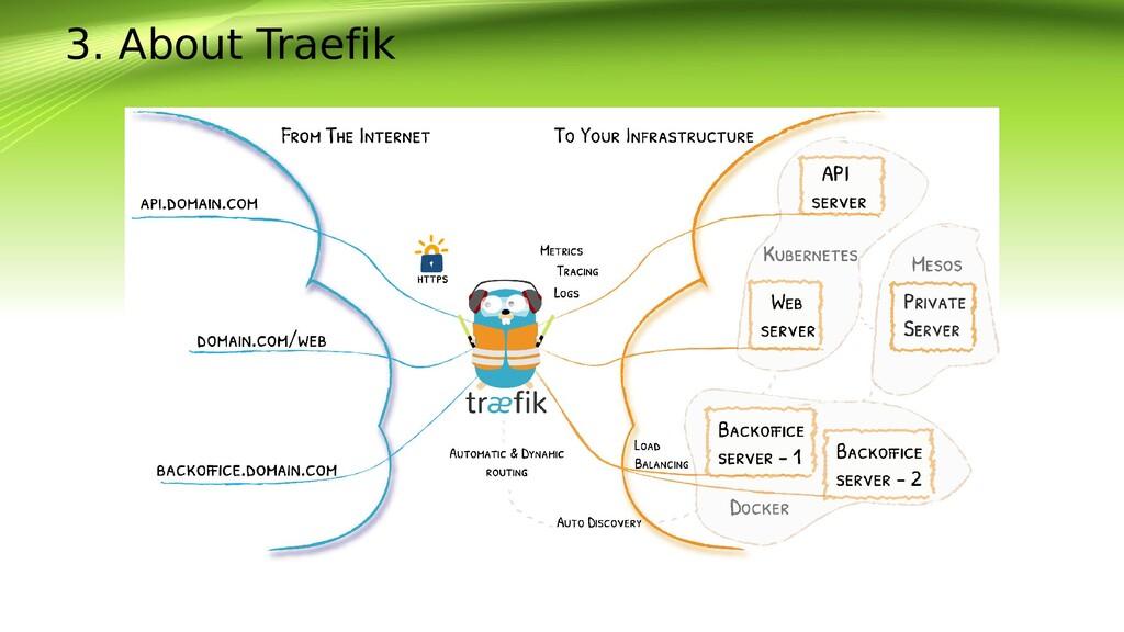 3. About Traefik