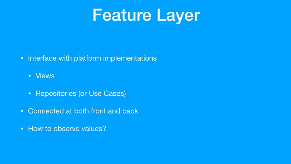 #DCNYC19 @rharter Login Feature Feature Layer •...