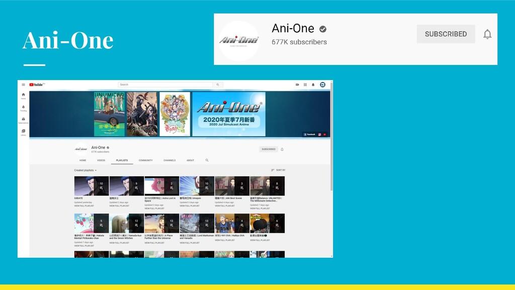 Ani-One