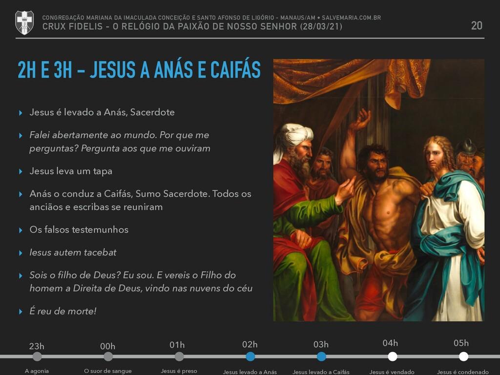 O suor de sangue A agonia 2H E 3H - JESUS A ANÁ...
