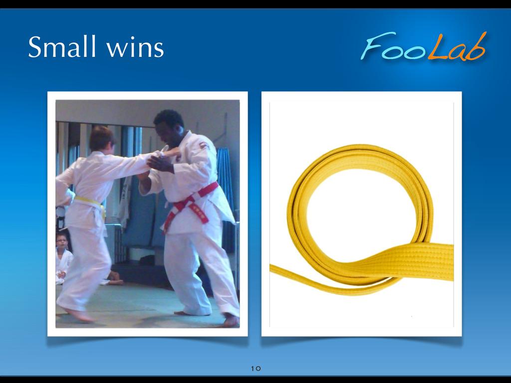 FooLab Small wins 10