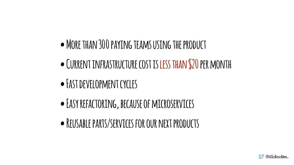 @slobodan_ • More than 300 paying teams using t...