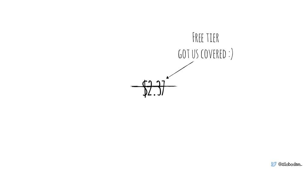 @slobodan_ $2.37 Free tier got us covered :)