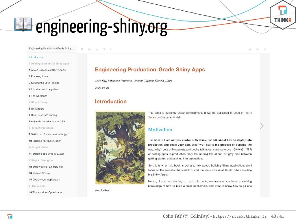 engineering-shiny.org Colin FAY (@_ColinFay) -...