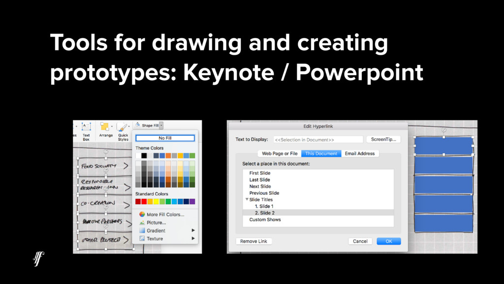 Tools for drawing and creating prototypes: Keyn...