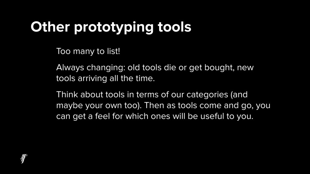 Too many to list! Always changing: old tools di...