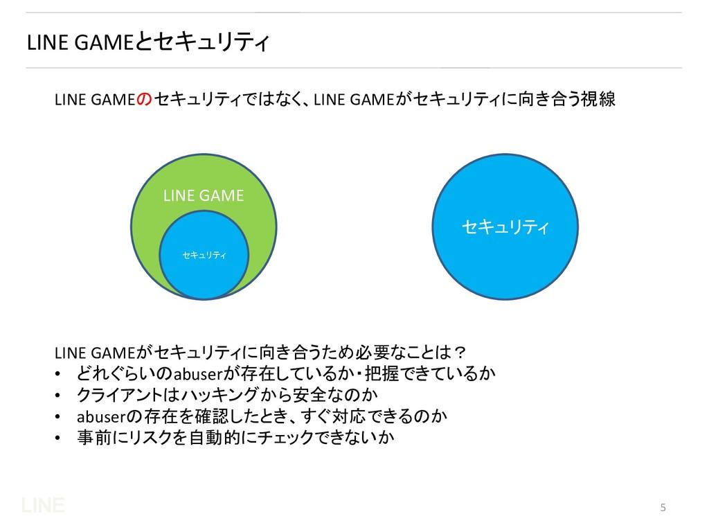 LINE LINE GAMEとセキュリティ LINE GAMEのセキュリティではなく、LINE...