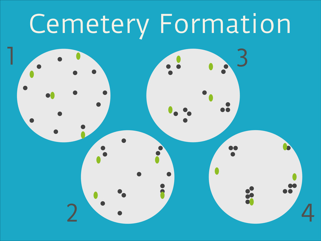 Cemetery Formation 1 2 3 4