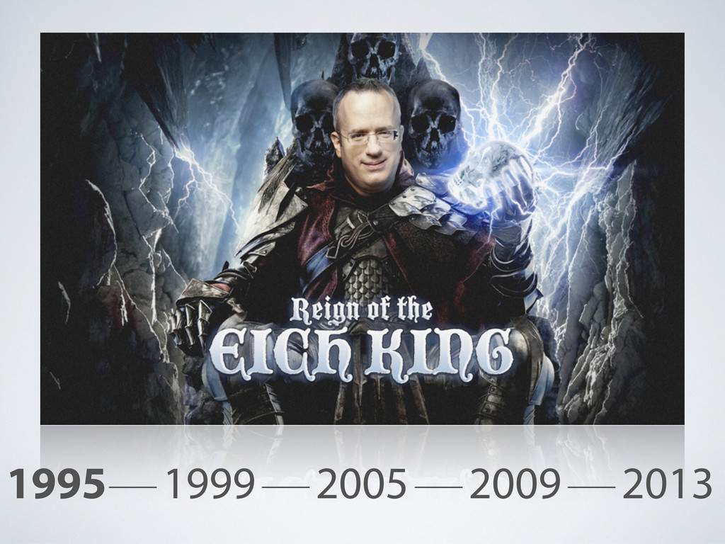 1995 1999 2005 2009 2013