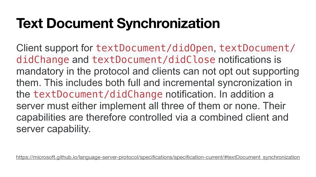 Text Document Synchronization Client support fo...