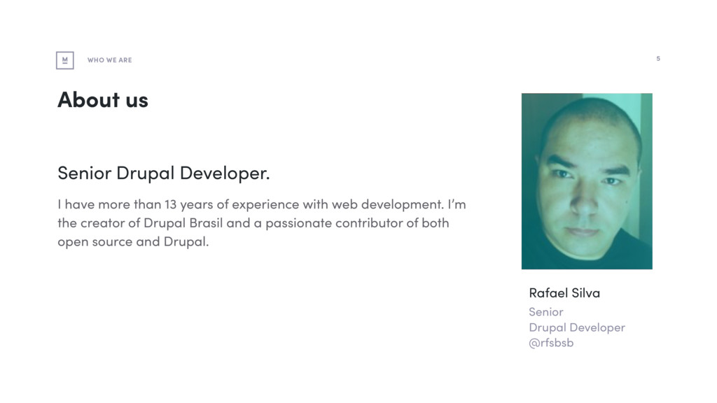 About us Senior Drupal Developer. I have more t...