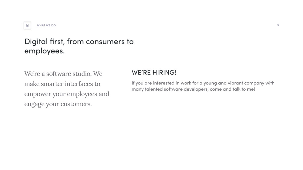 WE'RE HIRING! If you are interested in work for...