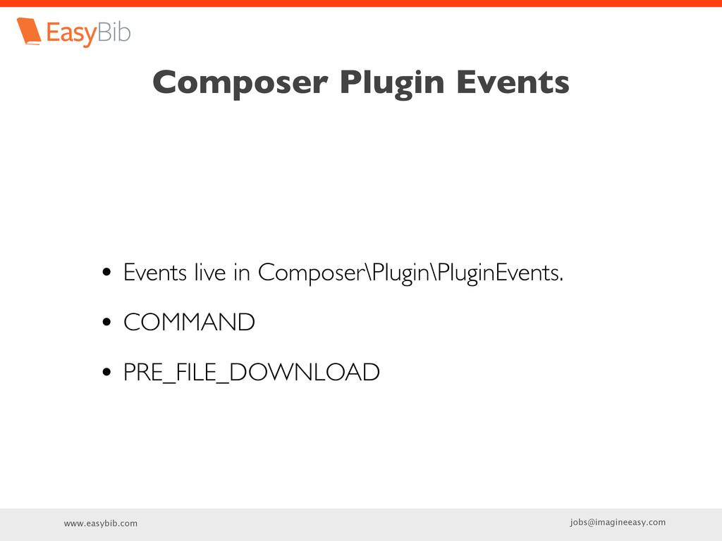 www.easybib.com jobs@imagineeasy.com Composer P...