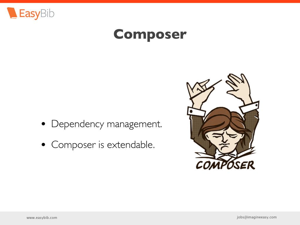 www.easybib.com jobs@imagineeasy.com Composer •...