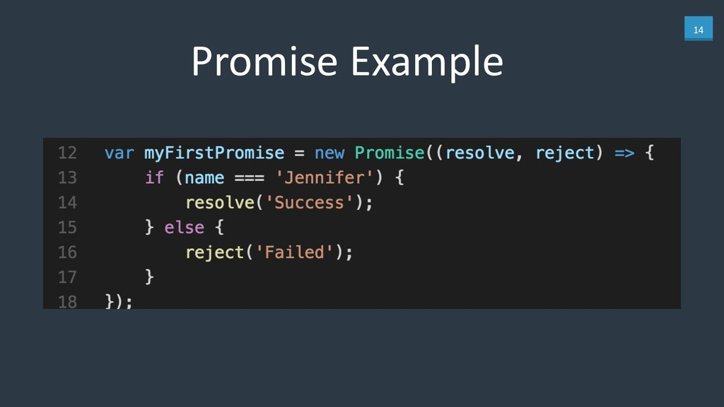 14 Promise Example