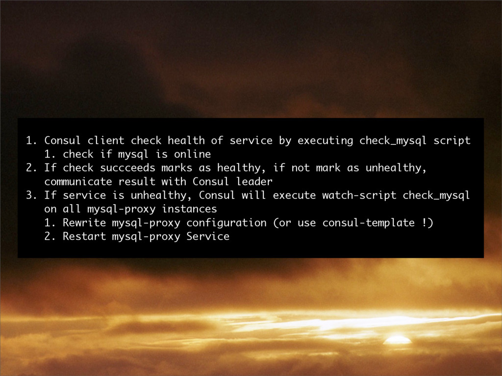 1. Consul client check health of service by exe...