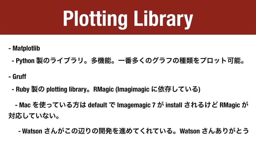 Plotting Library - Matplotlib - Python ͷϥΠϒϥϦɻ...