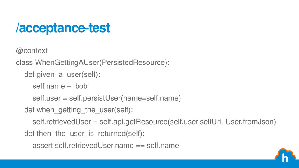 /acceptance-test @context class WhenGettingAUse...
