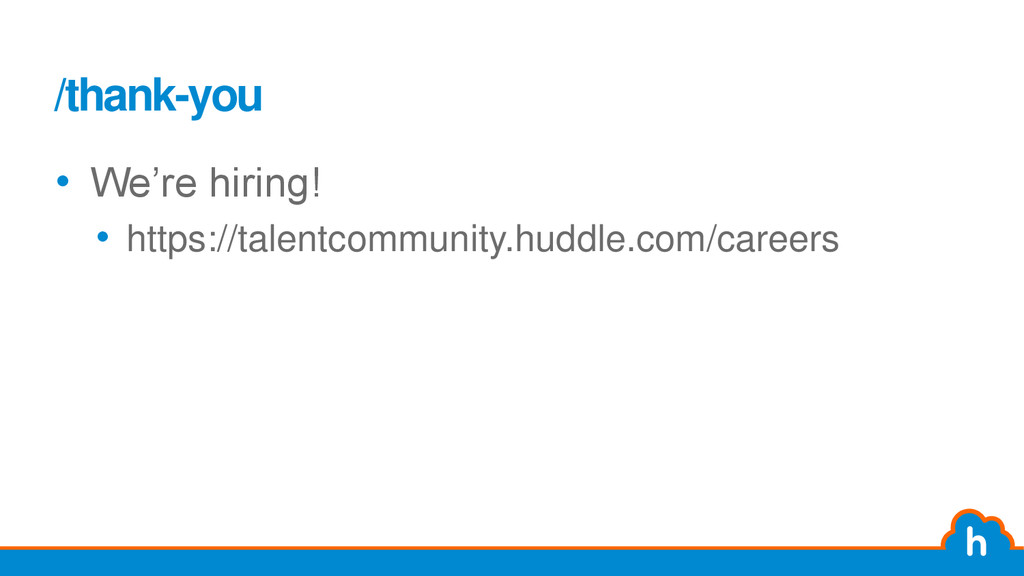 "/thank-you • We""re hiring! • https://talentcomm..."