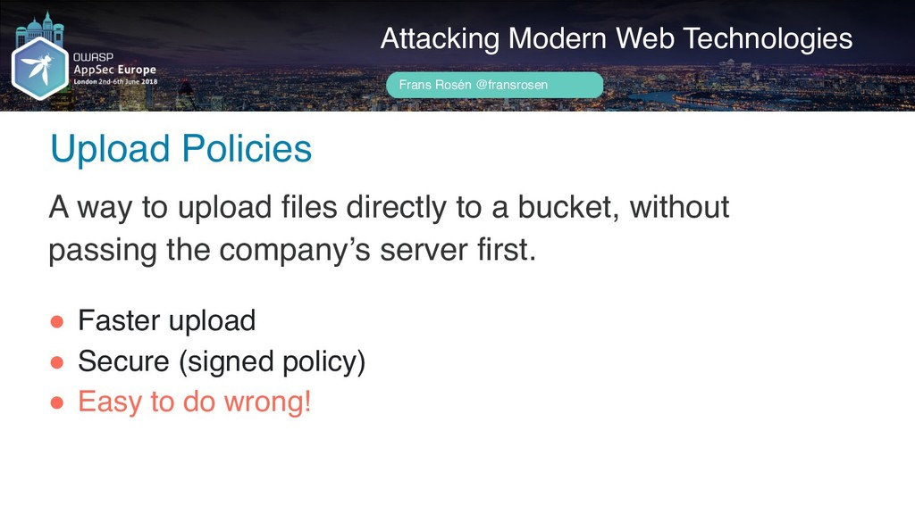 Author name her Upload Policies Attacking Moder...