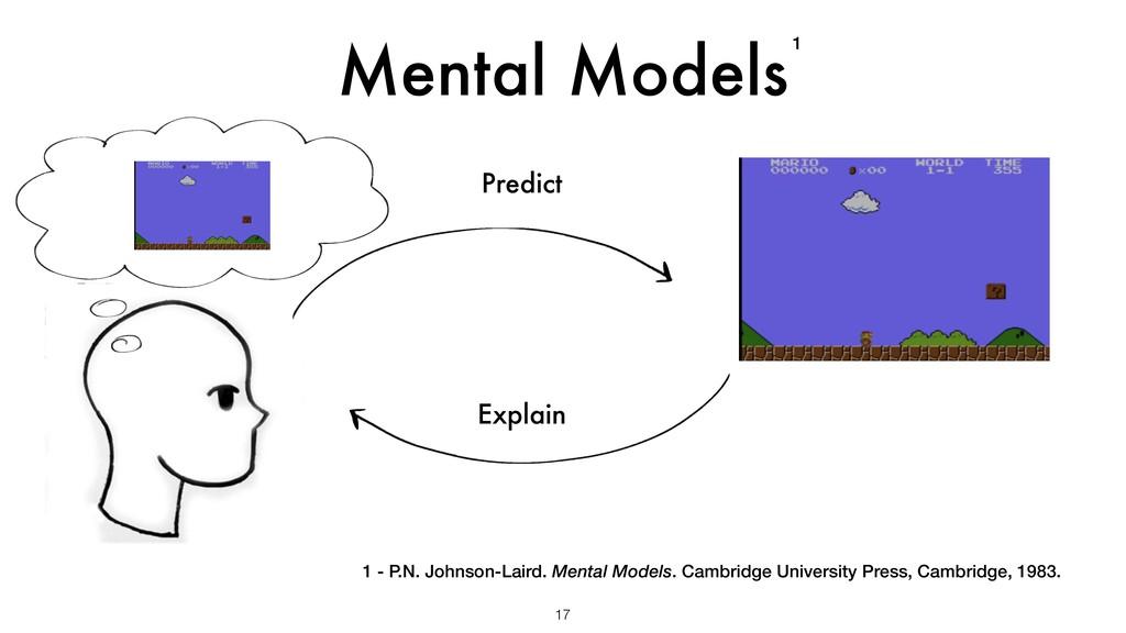 Mental Models 17 Predict Explain 1 - P.N. Johns...