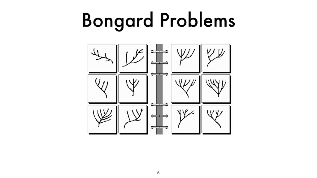 Bongard Problems 6