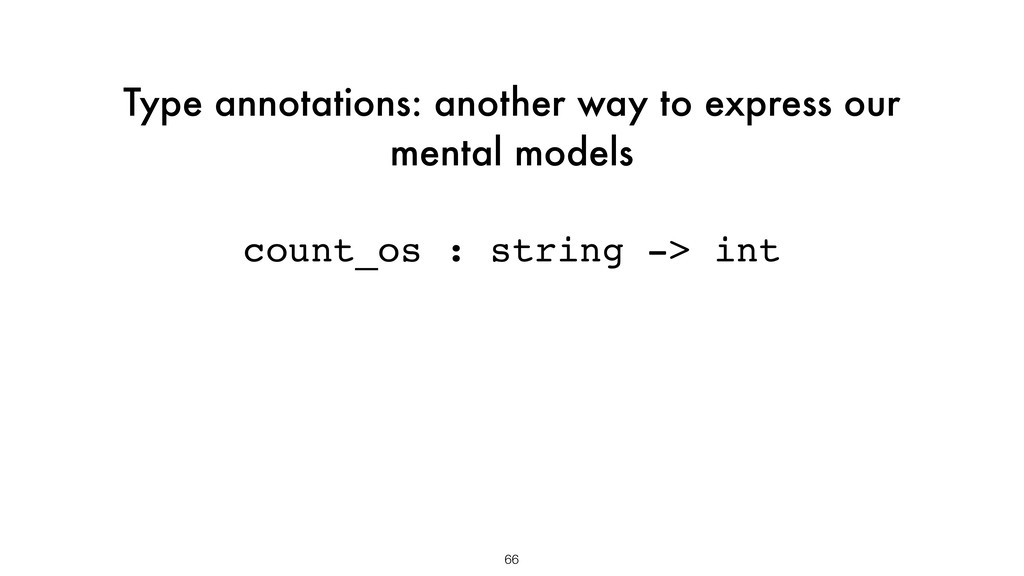 Type annotations: another way to express our me...