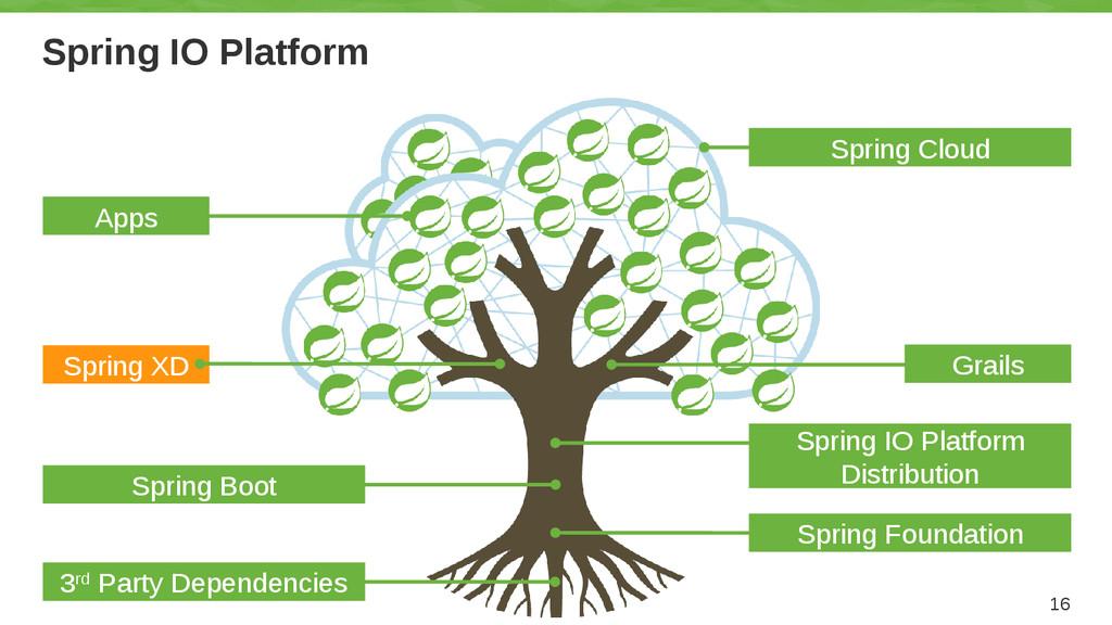 Spring IO Platform 16 Grails Spring IO Platform...