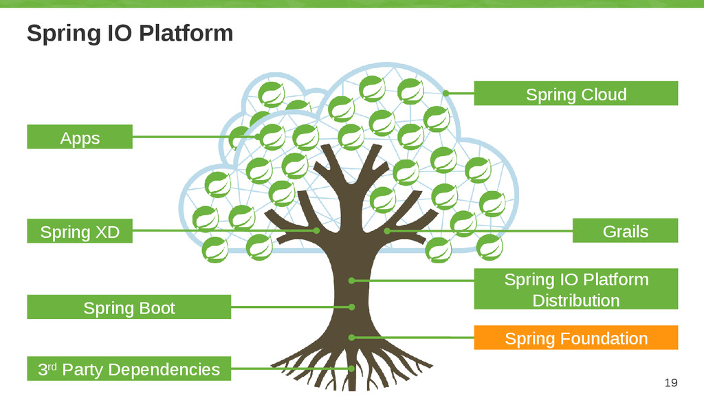 Spring IO Platform 19 Grails Spring IO Platform...
