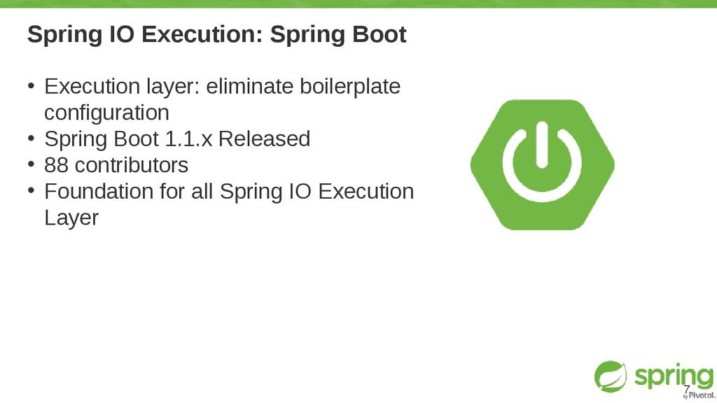 Spring IO Execution: Spring Boot • Execution la...