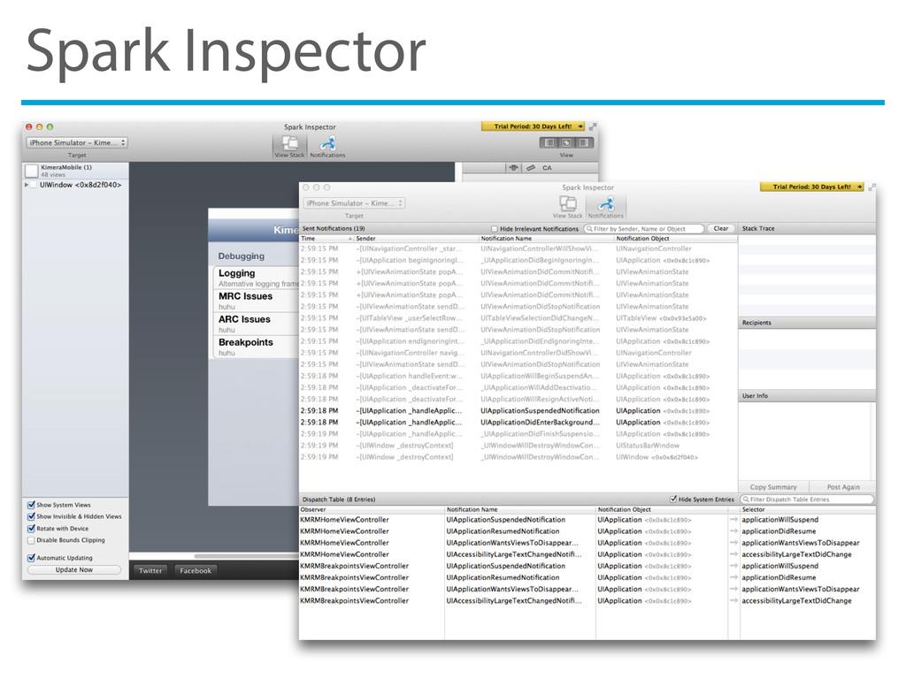 Spark Inspector