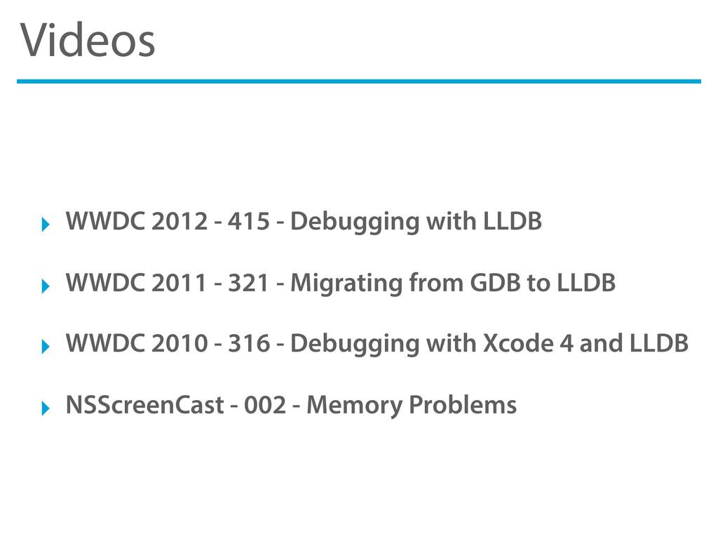 Videos ‣ WWDC 2012 - 415 - Debugging with LLDB ...