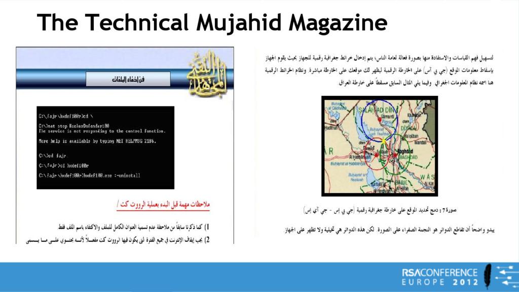 The Technical Mujahid Magazine