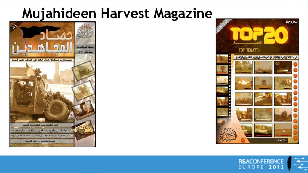 Mujahideen Harvest Magazine