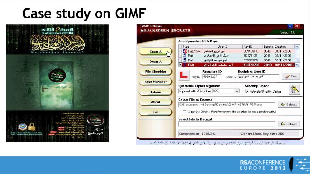 Case study on GIMF
